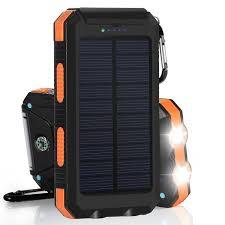 Защищённый <b>внешний аккумулятор 10000mAh с</b> солнечной ...