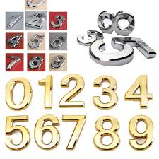 Decorative House Numbers Similiar Modern House Number Plate Keywords