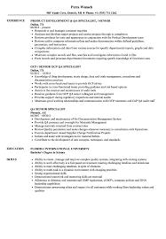 Qa Specialist Sample Resume QA Specialist Senior Specialist Resume Samples Velvet Jobs 4