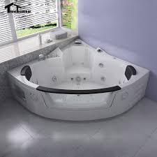 2 person whirlpool tub. 1350mm Whirlpool Bathtub AIR Massage Acrylic 2 Person Hot Tub Wall Corner GlassTriangular Hydro R