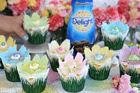 Easy Chocolate Flower Cupcakes Sugarhero