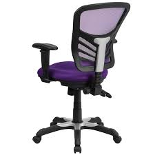 office chair controls. Multi-function Purple Executive Mesh Back Swivel Office Chair With Triple Paddle Control Mechanism - Free Shipping Today Overstock 22829218 Controls O