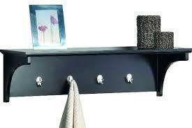 wood wall shelf with hooks decorative wall shelves living room bathroom bedroom wood wall shelf hooks