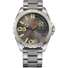 buy the men s hugo boss orange 1513317 watch francis gaye men 039 s stainless steel berlin watch