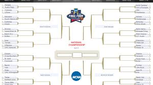 Bracket For Ncaa Basketball Tournament An Idiots Guide To Filling Out Your Ncaa Tournament Bracket Ncaa