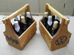 personalized pallet wood beer totes gifts