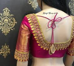 Designer Blouse Patterns For Pattu Sarees 30 Bridal Blouse Designs For Silk Sarees Pattu Sarees In