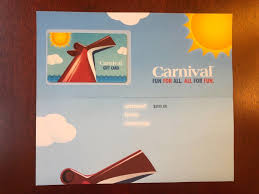 200 carnival cruise line gift card 1 of 1 see more