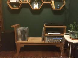 record player furniture I had made by a woodworker friend of mine