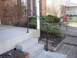 exterior handrail. exterior handrail for concrete