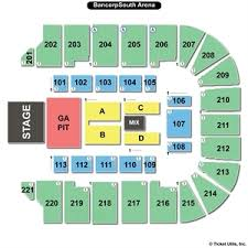Bancorpsouth Arena Tupelo Layout Related Keywords