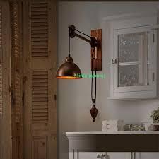 study room lighting. industrial decor indoor decorative lights study room led wall mount light swing arm sconce adjustable lighting