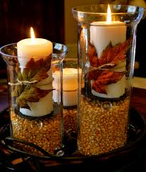 Diy Fall Decorations Thanksgiving Fall Decorations Hurricane Vases Amanda Jane Brown