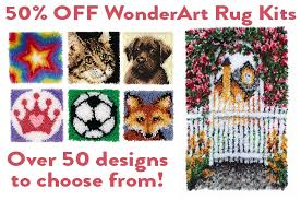 link readicut co uk rugs wonderart latch hook rug kits html