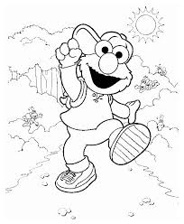 Small Picture Baby Elmo Coloring Pages Coloring Pages