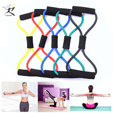 <b>8 Word</b> Fitness Rope <b>Resistance Bands</b> Rubber Bands for Fitness ...