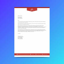Professional Letterhead Templates Classy Professional Business Letterhead Design Template Template For Free