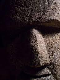 how to build a garden statue or moai head