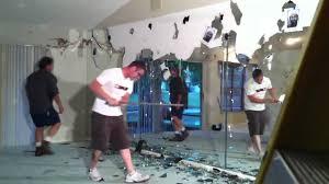 luxury inspiration remove mirror glued to wall home decor demolishing a glass you bathroom large