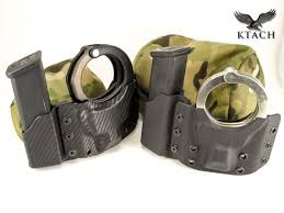 Handcuff And Magazine Holder Httpwwwktachusproductspistolmagcuffcombocarrier Kydex 17