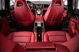 porsche panamera white red interior. 2014 porsche panamera 4s rear interior view httpcarwallpaper white red