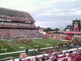 Umd Football Seating Chart Maryland Stadium Section 24 Home Of Maryland Terrapins