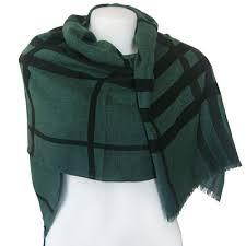 women summer shawl wrap green send