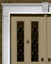 front door trimExterior Trim and Architectural Products for Home Exterior