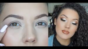 glam makeup tips for hooded eyes