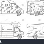 Amazing Camper Trailer Coloring Pages Sizable Daring Best Truc 3122