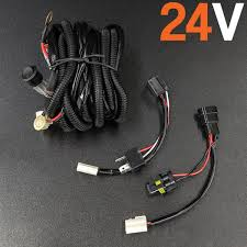 led wiring harness relays high beam wiring 12v 24v 24v quick fit high beam wiring harness
