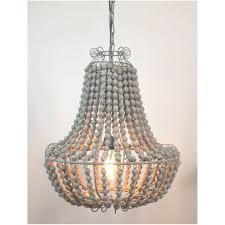 chandeliers elena wood bead chandelier elena wood bead with wooden bead chandelier view