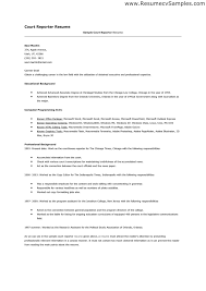 Reporter Resume - New 2017 Resume Format and Cv Samples - www .