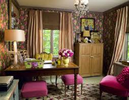 purple office decor. Home Office Décor Purple Touch Fresh Decor To Bring Spring Your High