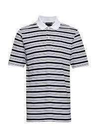 J Lindeberg Theo Pique White Men Clothing Polo Shirts Short