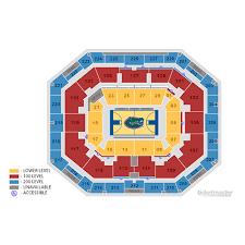 O Connell Center Seating Chart Florida Gators Mens Basketball Vs Auburn Tigers Mens