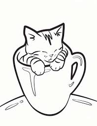 Cat Coloring Pages Coloringbay Swifteus