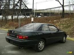 1995 Dark Emerald Green Metallic Toyota Camry LE V6 Coupe ...