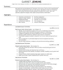Facility Maintenance Resume Building Maintenance Supervisor Resume Extraordinary Maintenance Supervisor Resume