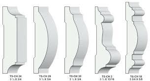 chair rail profiles contemporary molding standard