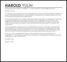 t cover letter sample policy advisor cover letter sample cover letter templates examples
