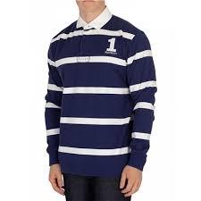 ett london autumn 2018 ett of london inch rugby shirt blue white stripe