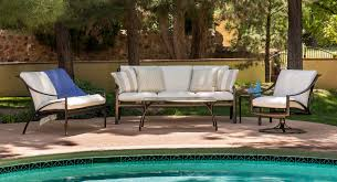 Choose Metal Brown Jordan Patio Furniture for Old Fashioned Poolside Area with Outdoor Chairs and Table