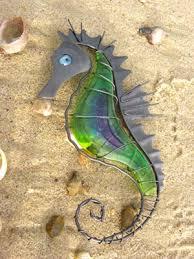 seahorse wall art uk