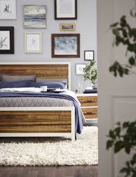 Low Profile Bedroom Furniture Montana Low Profile Bed By Modus Furniture