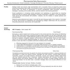 Sales Representative Resume Ideas Of Pharmaceutical Sales Rep Resume Examples] Examples 69