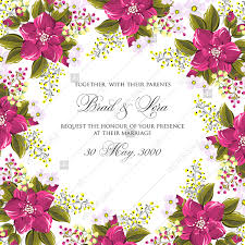 Wedding Photo Background Peach Pink Flowers Floral Wedding Background For Invitation Cards Templates
