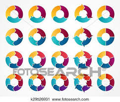 Vector Circle Arrows Infographic Template For Cycle Diagram