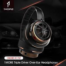 <b>Xiaomi 1MORE Triple Driver</b> Over Ear Headphones Hi-Res Audio ...
