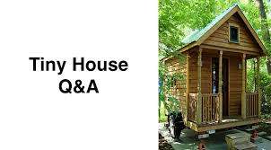 Small Picture Tiny House QA What does it cost to build a small house Small